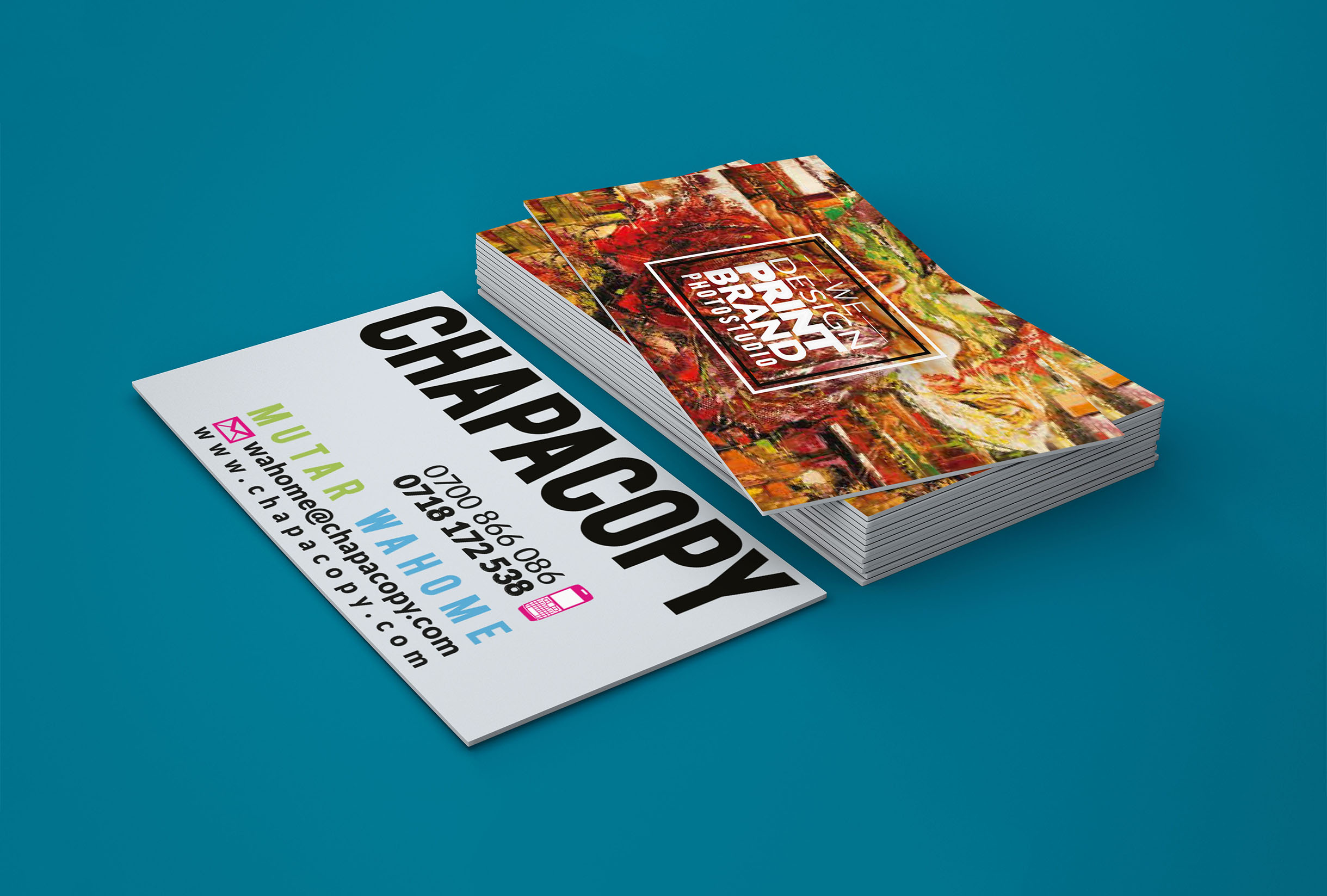 CHAPACOPY | Design, Print, Brand, Photography in Kenya